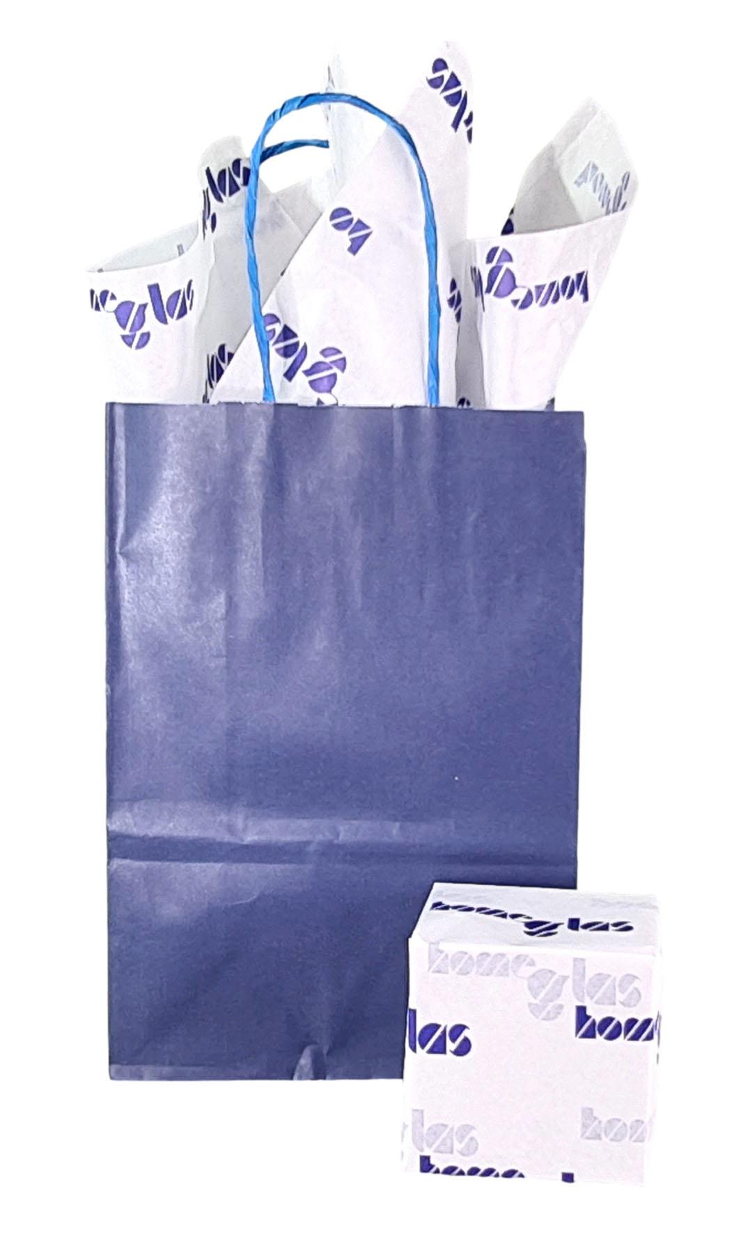 Papel de Seda Personalizado 20g/m - Tamanho 50 x 70 - Linha paper 431  - Litex Embalagens
