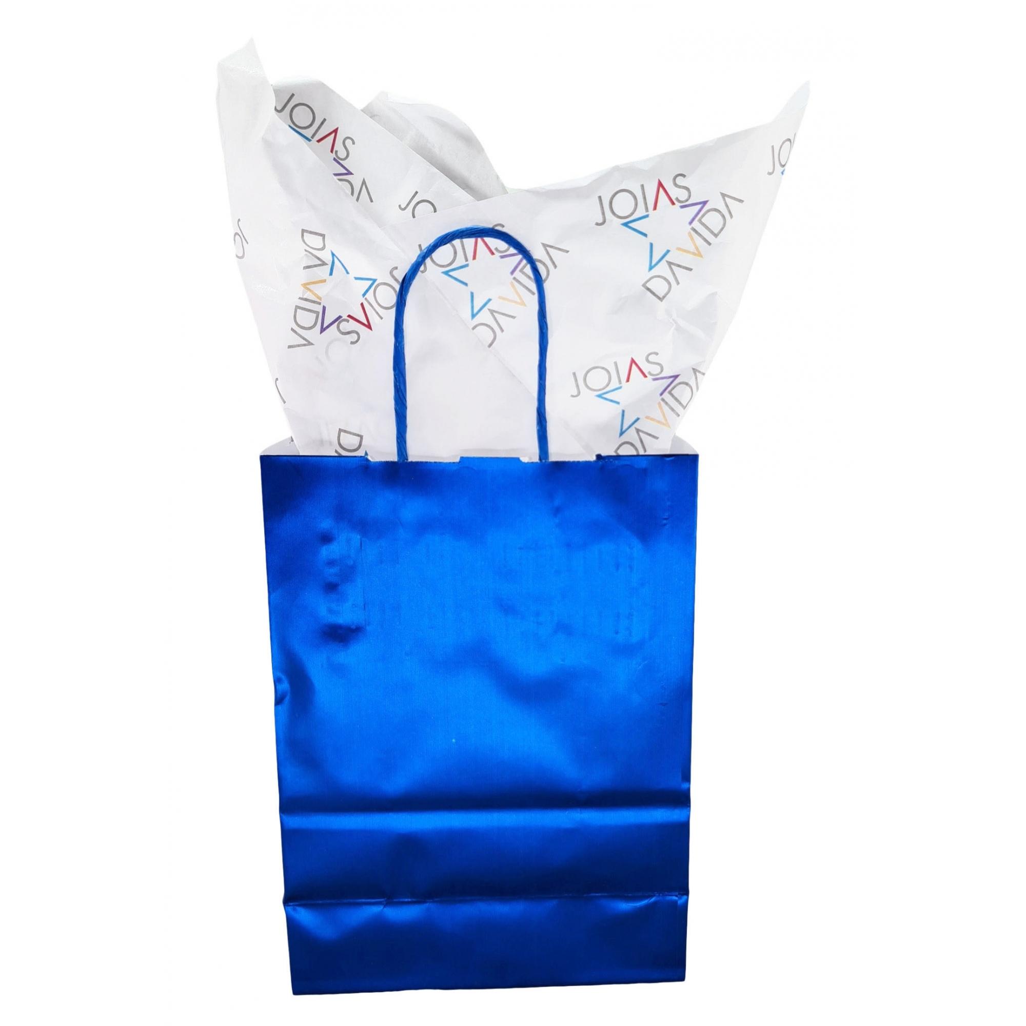 Papel de Seda Personalizado 20g/m - Tamanho 50 x 70 - Linha paper 447  - Litex Embalagens