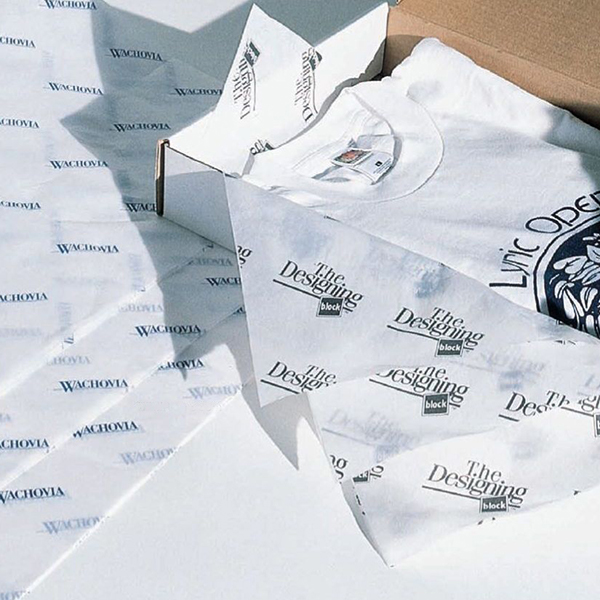 Papel de Seda Personalizado 20g/m - Tamanho 50 x 70 - Linha paper 485  - Litex Embalagens