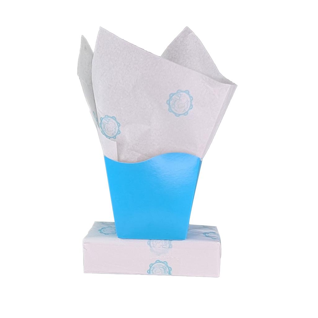 Papel de Seda Personalizado 20g/m - Tamanho 50 x 70  - Linha paper 7129  - Litex Embalagens