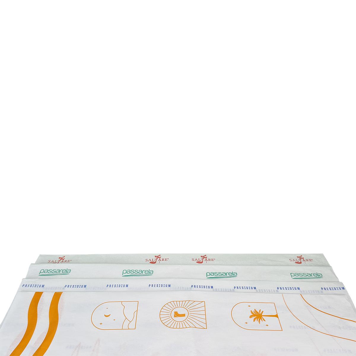 Papel de Seda Personalizado 20g/m - Tamanho 50 x 70 - Linha paper 7703  - Litex Embalagens
