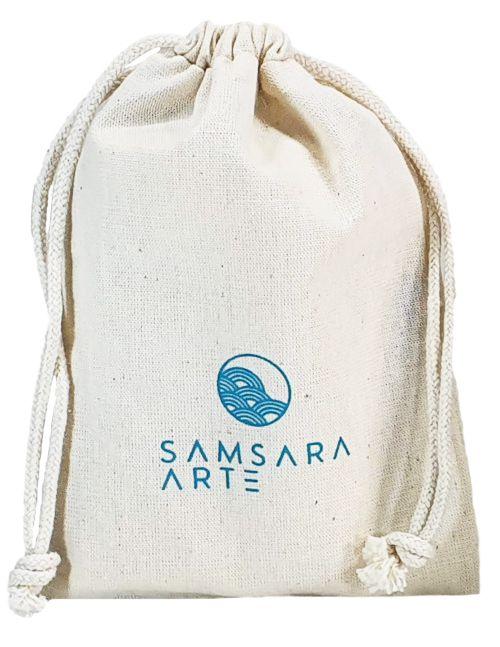 Saco de algodão  personalizado 40x60 -  impressão em serigrafia  -  Linha Classic 4317  - Litex Embalagens