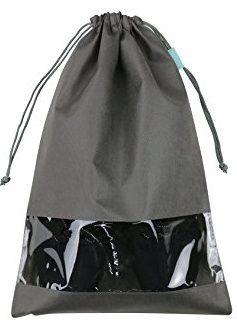 Saco de tnt para sapato 30x40 - com visor plastico personalizado - Linha Classic  1426  - Litex Embalagens
