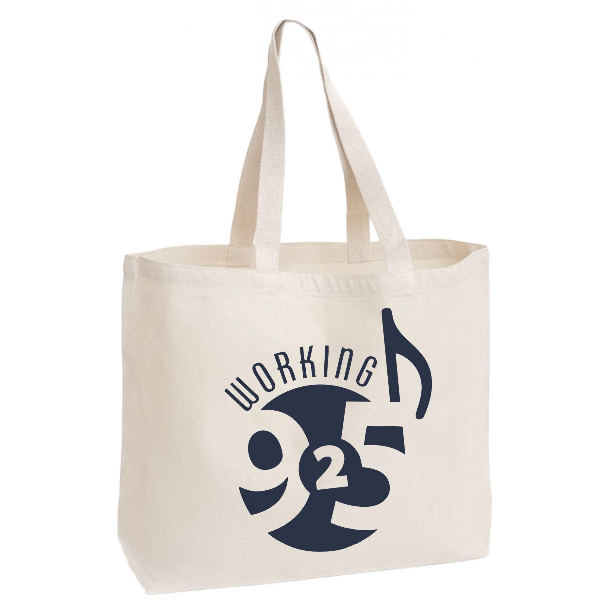 Sacola de algodão 35x40 - impressão em serigrafia -   Linha Ecobag 7480  - Litex Embalagens