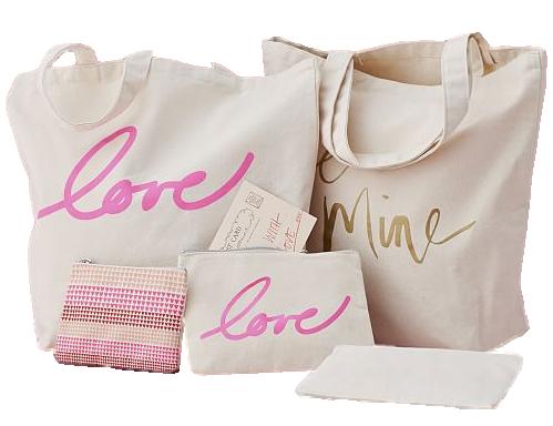Sacola e Necessaire de Lonita personalizada - Fabricamos todos os modelos e tamanhos á sua escolha - impressão em serigrafia -  Linha Gift 1369  - Litex Embalagens