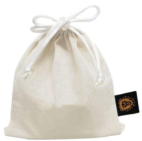 Saquinho de algodão  08x12 -  impressão bordada  -  Linha Classic 4067  - Litex Embalagens