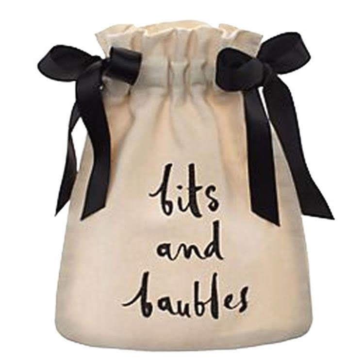 Saquinho de algodão personalizado para joias - 08x12 - impressão em serigrafia - Linha Exclusive 1328  - Litex Embalagens