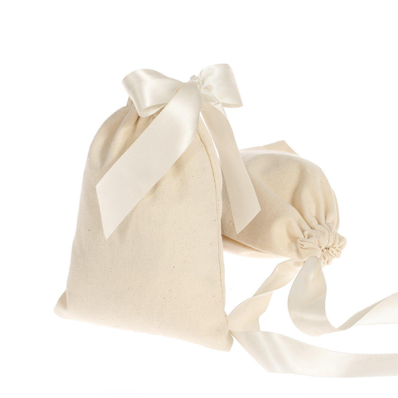 Saquinho de algodão 12 x 18 - Sem impressão - Linha Classic 2084  - Litex Embalagens