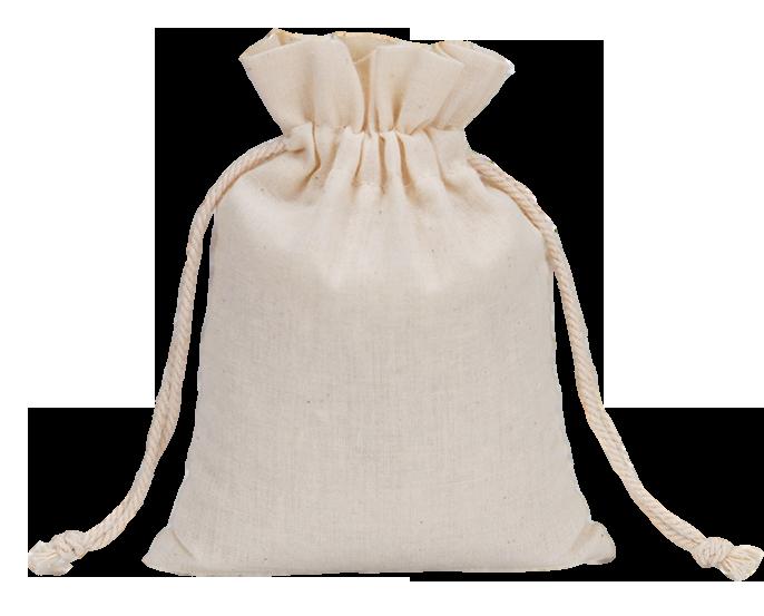 Saquinho de algodão - Sem impressão 10x15 - Linha Classic 2095  - Litex Embalagens