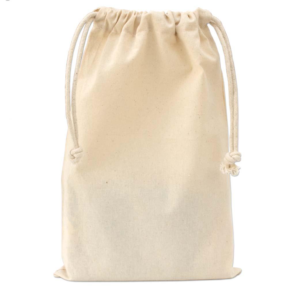 Saquinho de algodão - Sem impressão 15 x 20 - Linha Classic 2214  - Litex Embalagens