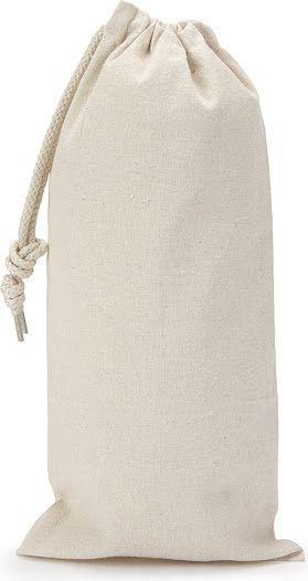 Saquinho de algodão - borda simples sem impressão 18 x 35  - Linha Classic 2212  - Litex Embalagens