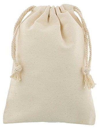 Saquinho de algodão - Sem impressão 20x30 - Linha Classic  2110  - Litex Embalagens