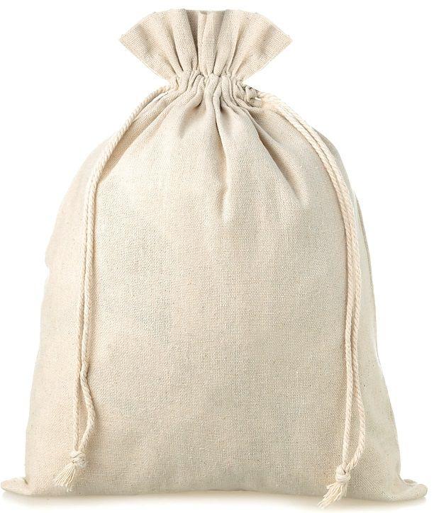 Saquinho de algodão - borda simples sem impressão 25x35 - Linha Classic 2209  - Litex Embalagens