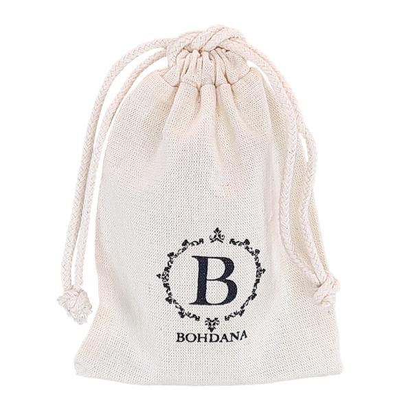 Saquinho de algodão paara joias 08x12 -  impressão da marca serigrafia - Linha Classic 4168  - Litex Embalagens