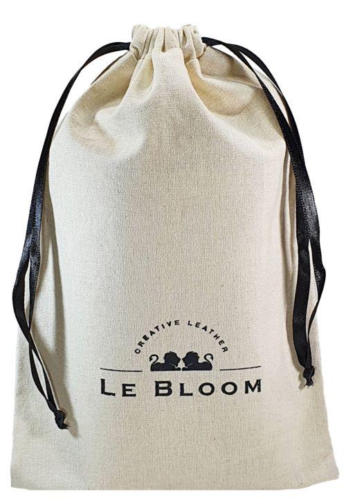 Saquinho de algodão para calça jeans -  45 x 50 - impressão em serigrafia - Linha Classic 1349  - Litex Embalagens