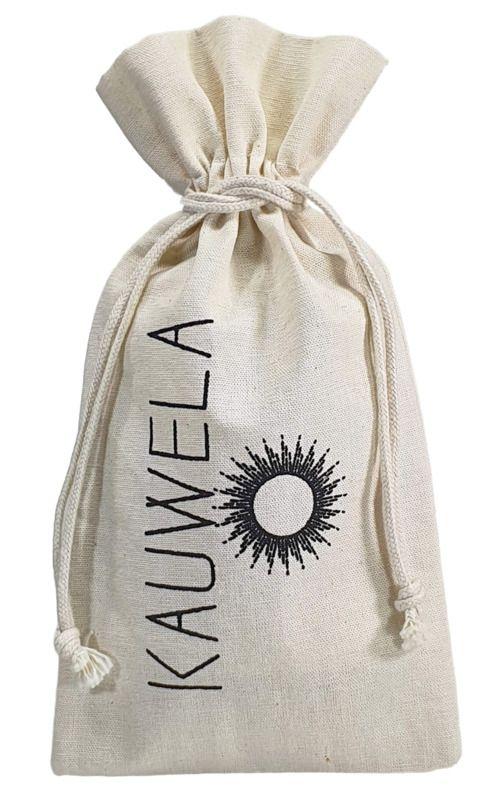 Saquinho de algodão para  garrafa 18 x 40 - impressão em serigrafia 1 cor - Linha Classic 4121  - Litex Embalagens