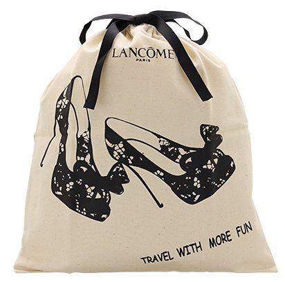 Saquinho de algodão para sapato 25x35 - impressão em serigrafia - Linha Classic  1854  - Litex Embalagens