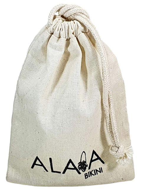 Saquinho de algodão personalizado 04x06-  impressão em serigrafia   -  Linha Classic  6051  - Litex Embalagens