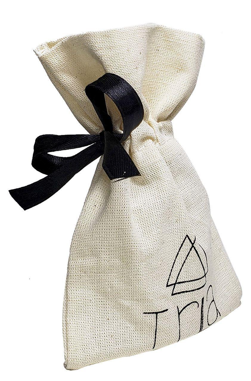 Saquinho de algodão  personalizado - 10 x 15 - impressão da logomarca em serigrafia 1 cor - Classic 399  - Litex Embalagens
