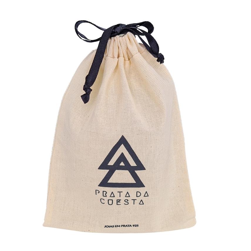 Saquinho de algodão personalizado 15x20 - impressão em serigrafia 1 cor - Linha Exclusive  4172  - Litex Embalagens