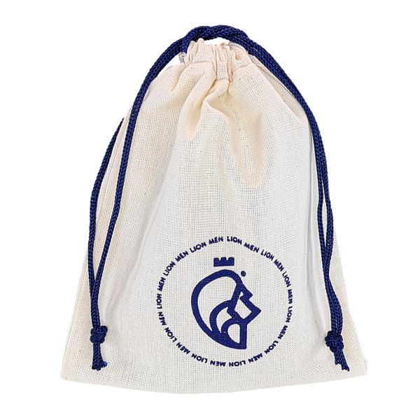 Saquinho de algodão personalizado para acessórios - 12x18 - impressão em serigrafia - Linha Classic  4173  - Litex Embalagens