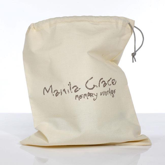Saquinho de algodão personalizado para Bolsa - 30X40 - impressão em serigrafia - Linha Classic 1338  - Litex Embalagens
