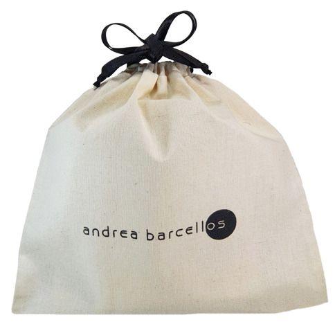 Saquinho de algodão personalizado para bolsa - 30x40 - impressão em serigrafia - Linha Classic 7231  - Litex Embalagens