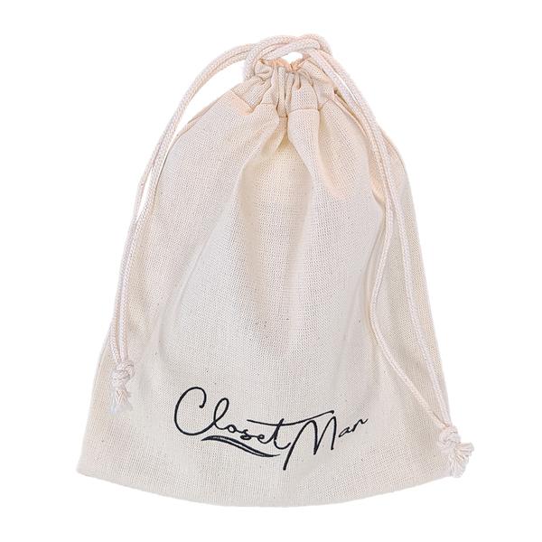 Saquinho de Algodão Cru Borda Simples 25x35 Personalizado em Serigrafia 1 Cor   - Litex Embalagens