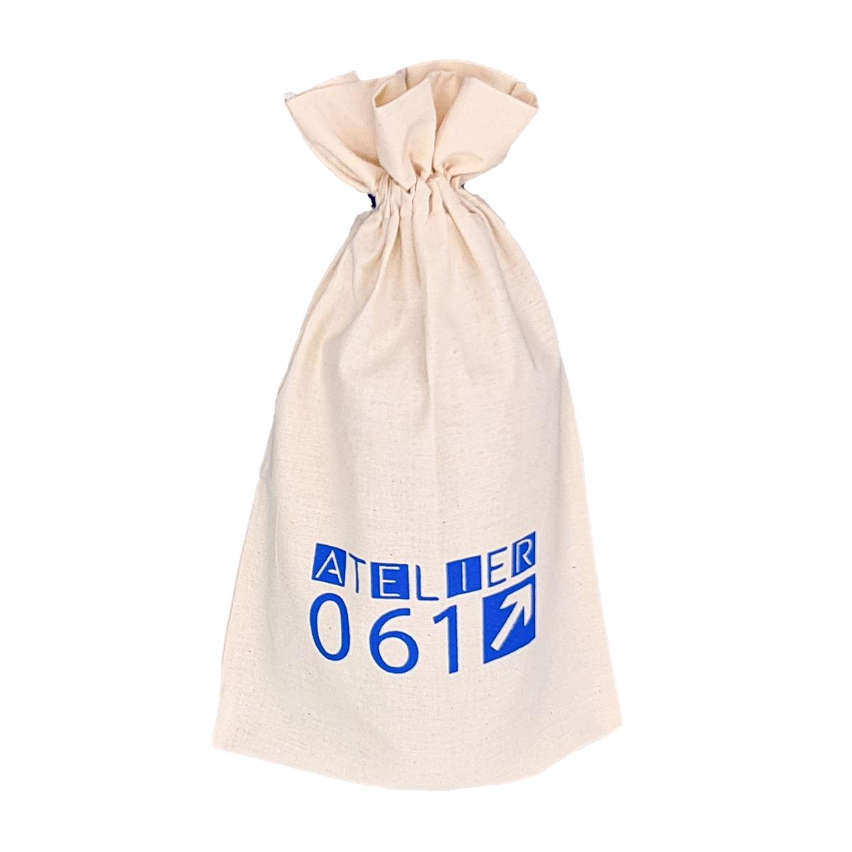 Saquinho de Algodão Cru Borda Dupla 18x40 Personalizado em Serigrafia 1 Cor   - Litex Embalagens