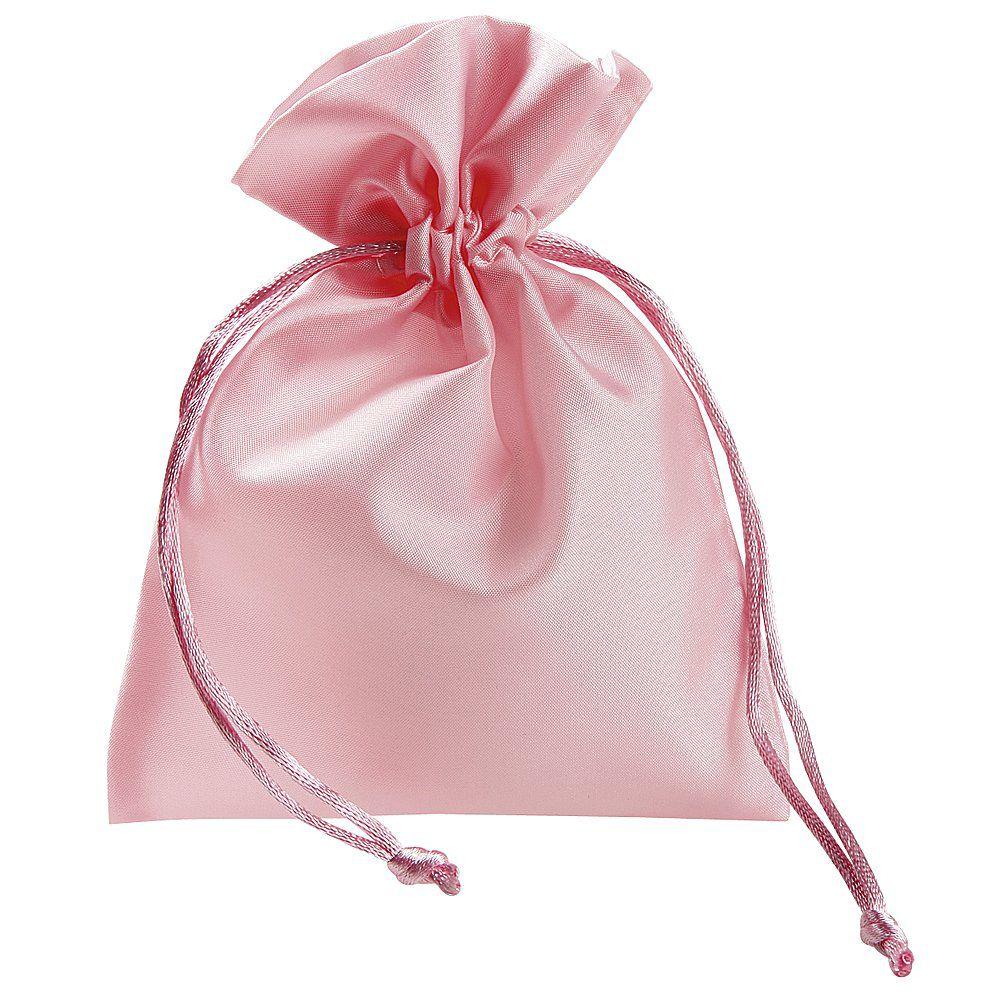 Saquinho de cetim para bem casado - 08 x 12 - Sem impressão - Linha Classic 2353  - Litex Embalagens