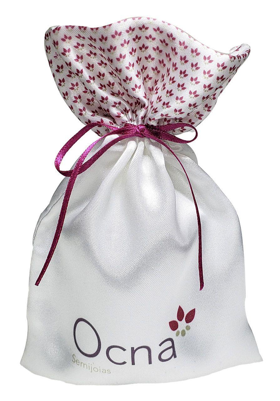 Saquinho de Cetim para joias 10 x 15 - Impressão Digital - Borda personalização digital -  Linha Luxo  2144  - Litex Embalagens