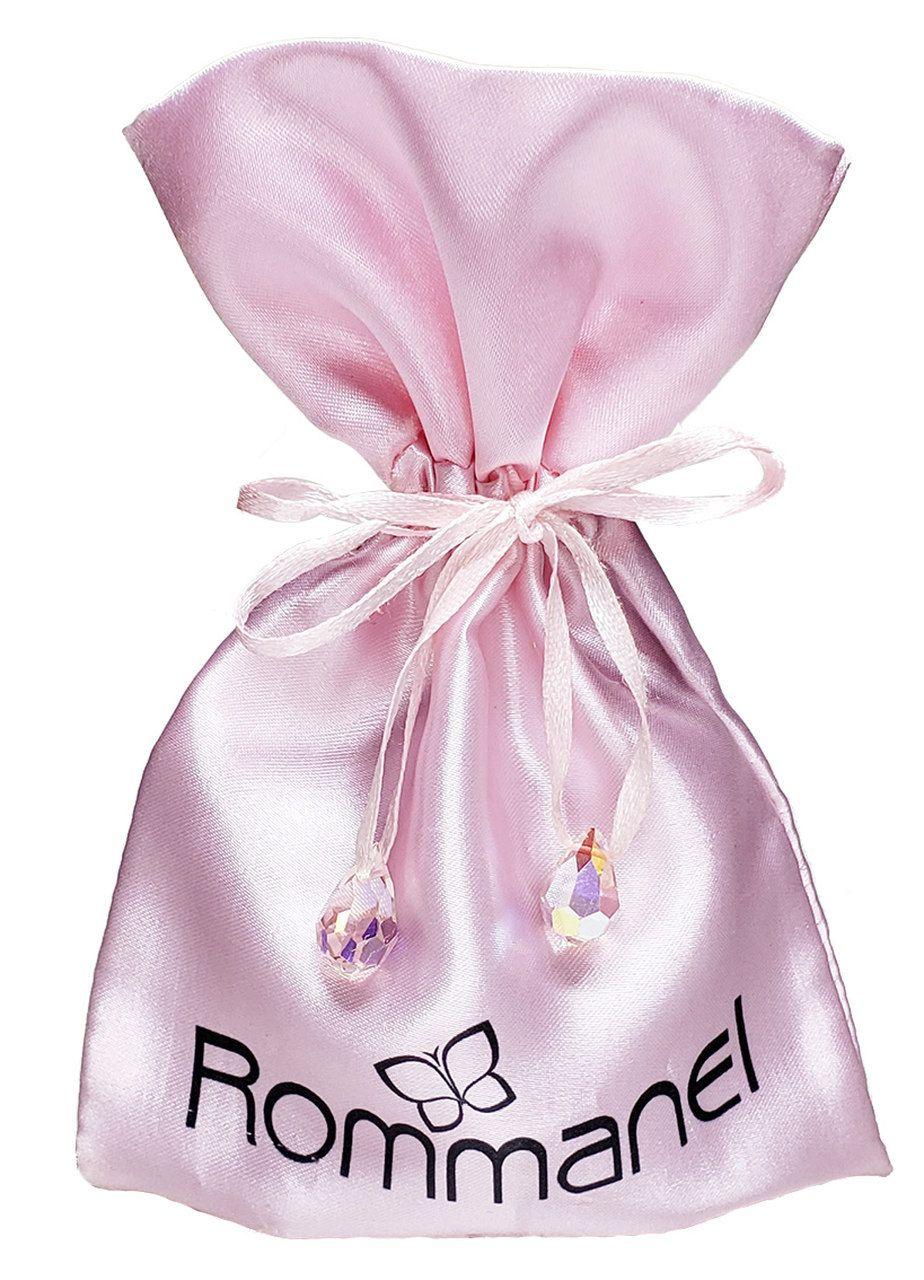 Saquinho de Cetim para joias 10 x 15 - Impressão Digital - Ponteira de Cristal - Linha Exclusive 2186  - Litex Embalagens