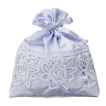 Saquinho de cetim com renda Premium 20x30 - Linha Premium 330  - Litex Embalagens