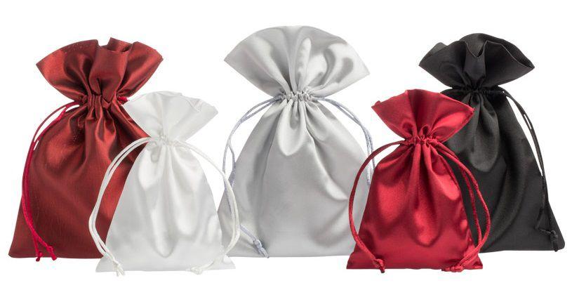 Saquinho de cetim sem impressão 08 x 12 - Para outros tamanhos consulte - Linha Classic 2097  - Litex Embalagens