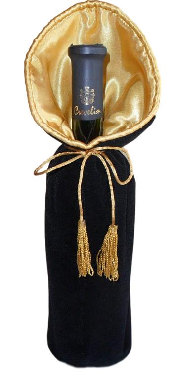 Saquinho de Cetim Charmouse Temático Premium 18x40 Fechamento com Pingente Cúpula de Seda  - Litex Embalagens