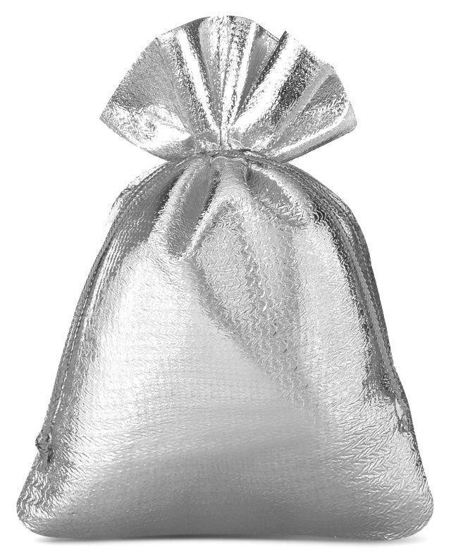 Saquinho de lamê  para joias - borda dupla sem impressão 15 x 20 - Linha Classic 2153  - Litex Embalagens