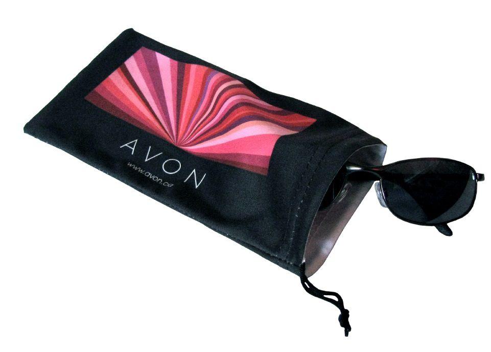 Saquinho de microfibra para óculos 10x20 - impressão colorida total  -  Linha Cristal  1653  - Litex Embalagens