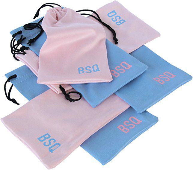 Saquinho de Microfibra Borda Simples 10x20 Personalização em Serigrafia 1 Cor  - Litex Embalagens
