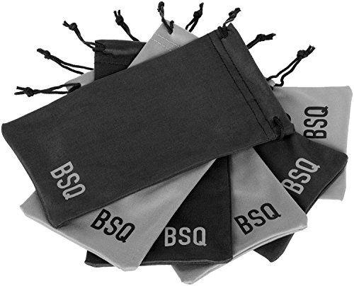 Saquinho de microfibra para óculos - impressão logomarca serigrafia 1 cor - Linha Cristal  1622  - Litex Embalagens