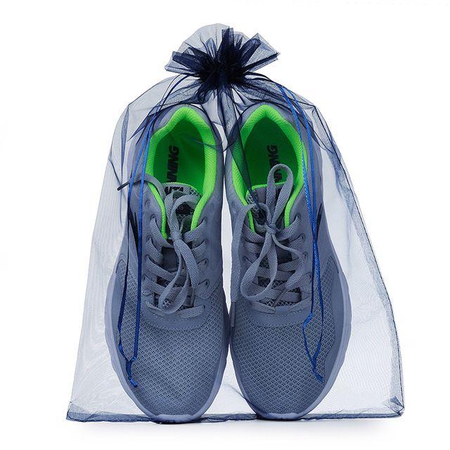 Saquinho de organza para sapato - 30 x 40 - sem impressão - Linha Classic 6194  - Litex Embalagens