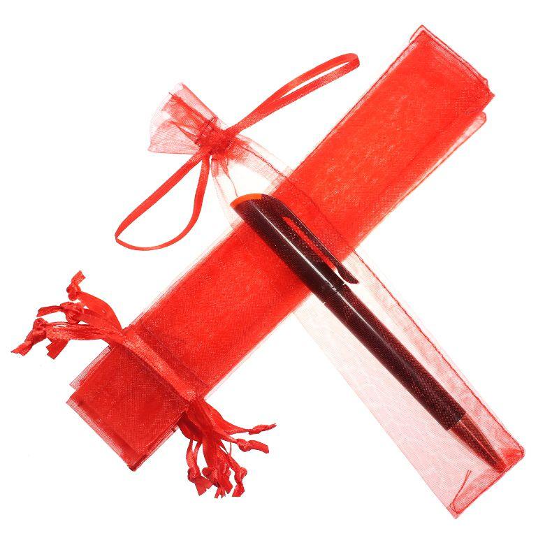 Saquinho de organza para caneta  04x17 - sem impressão - Linha Classix  4571  - Litex Embalagens