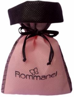 Saquinho de tnt  08x12 - borda colorida - personalizado em serigrafia -  Código 1485  - Litex Embalagens