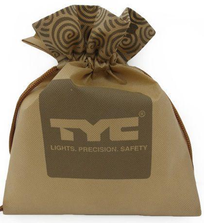 Saquinho de tnt - Tamanho 20x30  - borda dupla personalizada com serigrafia - Linha classic 1441  - Litex Embalagens