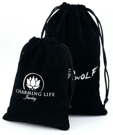 Saquinho de veludo personalizado para camiseta - 25x35 -  impressão serigrafia -  Linha Classic 1107  - Litex Embalagens