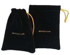Saquinho de Veludo 25x35 - personalizado em power filme - Linha Luxo 372  - Litex Embalagens