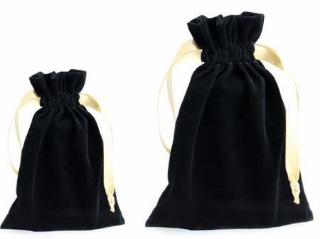 Saquinho de veludo - Sem impressão 12x18 - Para outros tamanhos consulte - Linha Classic 2107  - Litex Embalagens