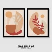 Composição Decorativa | Composição sol e folhas