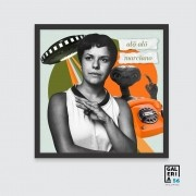 Quadro Decorativo | Colagem Elis Regina - Alô Alô Marciano