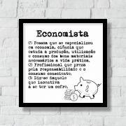 Quadro Decorativo | Arte Profissão Economista