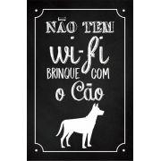 Quadro Decorativo | Arte Cão Wi-Fi